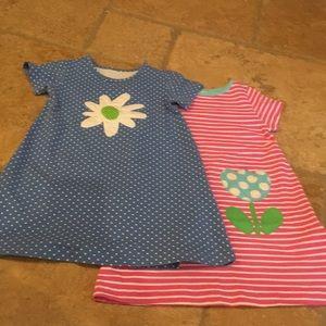 Kelly's Kids Dress Lot Bundle Blue Pink Size 5-6